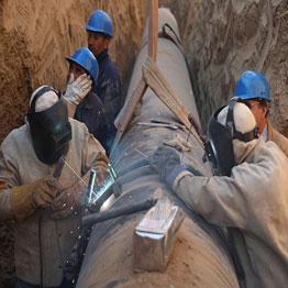 خط انتقال پساب به پالایشگاه نفت تهران ٨٧ درصد پیشرفت داشته است