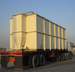 طراحی سیستم تصفیه فاضلاب صنعتی کارخانه لبنیات کاله کربلا (عراق)